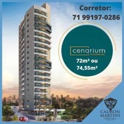 Cenarium Residencial, Apartamento 2/4 em 72m² com 1 vaga - Nascente