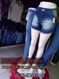 Título do anúncio: Casa do Jeans modelos exclusivos ! Kit com tres peças