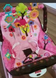 Cadeira Fisher Price Infantil Rosa