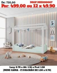 Liquida em MS - Cama Montessoria  - Cama Infantil - Cama Branca- Embalado