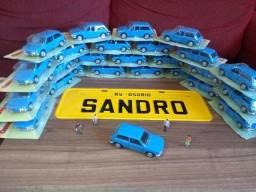 Miniaturas de coleção de carros nacionais