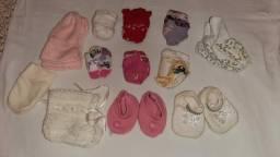 Título do anúncio: Combo de bebê menina 2 a 6 meses