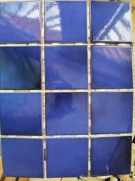 Pastilha 10x10 Azul Laguna - Strufaldi
