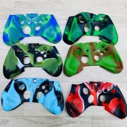 Capa Protetora Para Controle Xbox One e Ps4