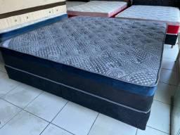 Título do anúncio: cama box SUPER KING ORTOBOM  - ENTREGAMOS