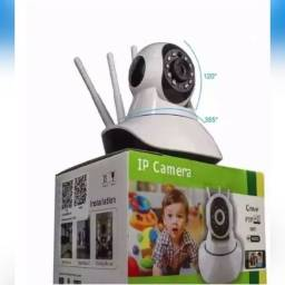 Câmera Ip Sem Fio 360, 3 Antenas Hd Wifi ,Sistema Yoosee/yyp2p