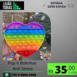 """Título do anúncio: Pop It Bolinhas Anti Stress Alívio E Relaxamento Sensorial"""""""
