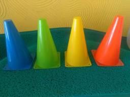 Cones 23cm para Treinamento Funcional