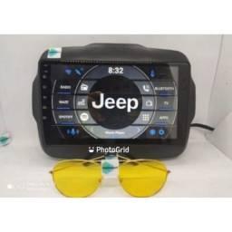 Central multimídia Jeep Renegade, espelhamento S300 Android