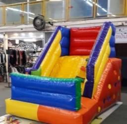 mini tobogã inflável 3m
