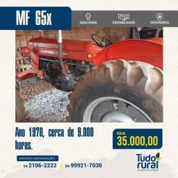 Título do anúncio: Trator Massey Ferguson/65x/1970