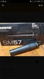 Microfone Shure SM 57 original  original original ótimo estado