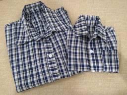 Camisa xadrez tricoline