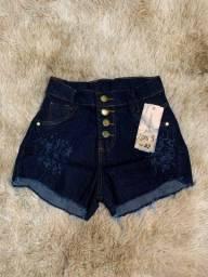 Shots jeans variados em promoção