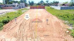 ? Loteamento São José, terreno pronto p/ construir, entrada + R$ 978,75/mês