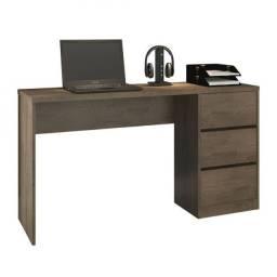Título do anúncio: Mesa Computador com 3 Gavetas (Ideal para Home Office) - Só R$299,00
