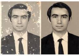 Restauração De Fotos Antigas Alta Qualidade