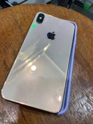 Vendo iPhone Xs Max, 64gb dourado