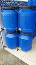 Bombona 50 litros leiteira,  barrica com ou sem torneira, tambor limpo
