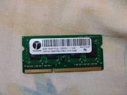 6 Memórias DDR 3 de 4gb Para Notebooks