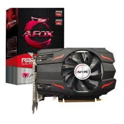 Placa de Vídeo Afox Radeon, RX 550 4GB, GDDR5, 128Bit,