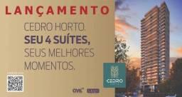 Cedro Horto, Aptos 4 suítes e varanda gourmet na parte mais nobre do Horto Florestal
