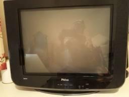 Tv 21p Philco Super Slim Plana Ph21m Ss - Com Defeito