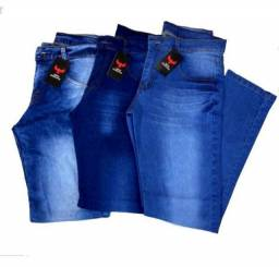 Calça Jeans Masculina Elastano Slim Tam 40