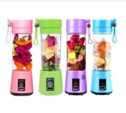 Mini Liquidificador Portátil Shake Take Juice Cup 4 Lâminas Recarregável USB