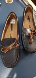 SAPATO MOCASSIM FEMININO - COURO - COLLECTION BY CLARKS - N? 36