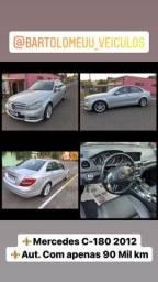 Título do anúncio: ?Mercedes-Bens C-180 2012