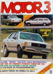 Revista Motor 3 - 33 - Alfa 2300, Mercedes, Voyage