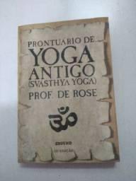 Livro Prontuário De Yoga Antigo Svásthya De Rose