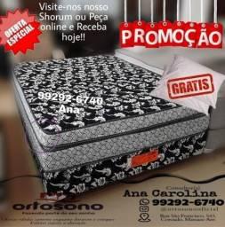 Título do anúncio: Cama box casal Fofinha + 2travessiros GRatis <>