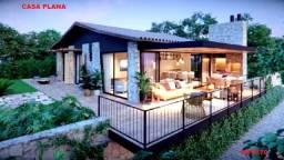 Chalés das Montanhas, casa plana e casa duplex, Lançamento em Guaramiranga