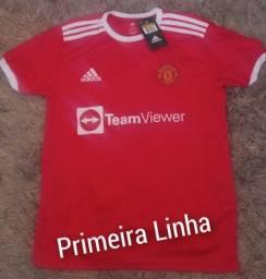 Título do anúncio: Camisa Primeira Linha Nacional Manchester United