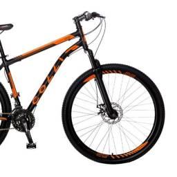 Bicicleta Colli Bike Aro 29 com Freio a Disco e 21 Marchas