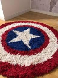 Tapete decorativo capitão América