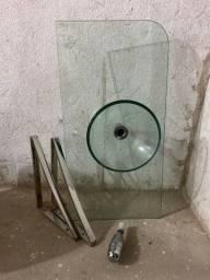 Pia e Cuba de vidro