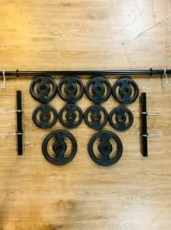 Kit Musculação para sua casa