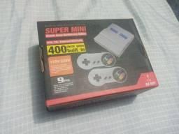 Mini Nintendo com 400 na memoria