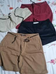 Shorts e bermudas novas