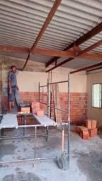 Construção civil faço reboco alvenaria pisos azulejo