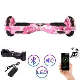 Título do anúncio: Hoverboard Skate Eletrico 6,5 Rosa  Military Hoverboard pro move
