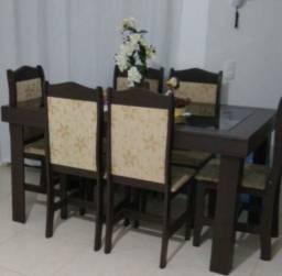 Mesa 6 cadeiras em ótimo estado