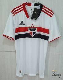 Título do anúncio: Camiseta - São Paulo