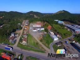 Área com Galpão, Instalada as margens da BR 280, Zoneamento Portuário