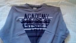 Camisas de manga (as duas pelo preço 15,00) comprida Rovitex tam. 14