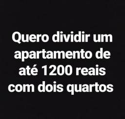 Quero dividir um apartamento