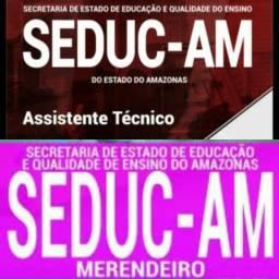 Apostila Merendeiro e Ass. Tecnico 2018 - R$10 em PDF